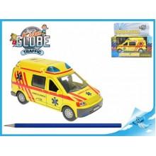 Auto Ambulance zpětný chod se světlem a zvukem