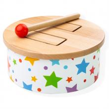 Bigjigs Toys Dřevěný bubínek