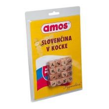 Amos Slovenčina v kocke