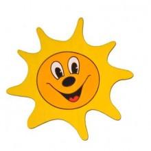 DoDo Střední dřevěná dekorace sluníčko