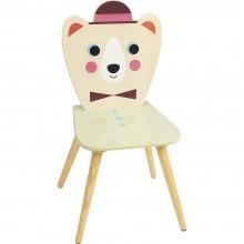Vilac Židlička medvěd v klobouku