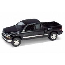 Welly - Chevrolet Silverado Extended (1999) 1:24 černý