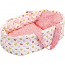 Petitcollin Přenosná taška pro panenku růžová corali