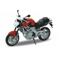 Welly - Motocykl Aprilia Shiver 750 model 1:18 červená