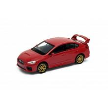 Welly - Subaru Impreza WRX STI 1:34 červené