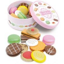 Vilac Dřevěná krabička sušenek