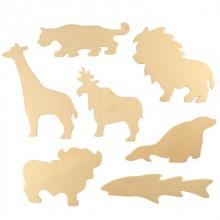 Bigjigs Toys Obkreslovací obrázky zvířátka ZOO