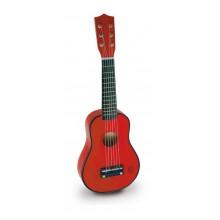 Dětské hudební nástroje Vilac - Kytara červená