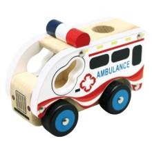 Bino - Dřevěné auto ambulance