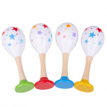 Bigjigs Toys Rumba koule hvězdičky 2 ks