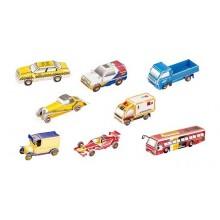 Small Foot Třívrstvé pěnové 3D puzzle série aut