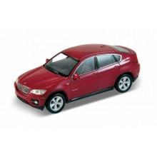 Welly - BMW X6 model 1:34 červené