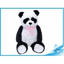 Plyšová panda s mašlí 100cm