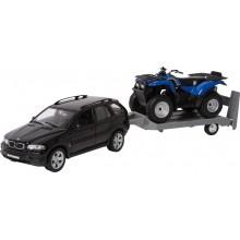 Small Foot Kovový model auta Model automobilu Off-Road set - poškozený obal