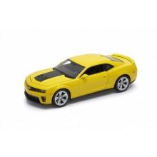Welly - Chevrolet Camaro ZL1 model 1:24 žlutý