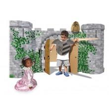 Small Foot Rytířský hrad Avalon z pevné lepenky