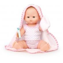 Petitcollin Koupací panenka 36 cm s ručníkem