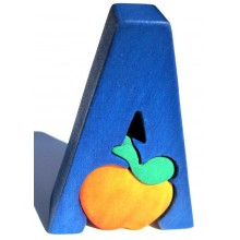 Fauna Abeceda písmenko A jablko