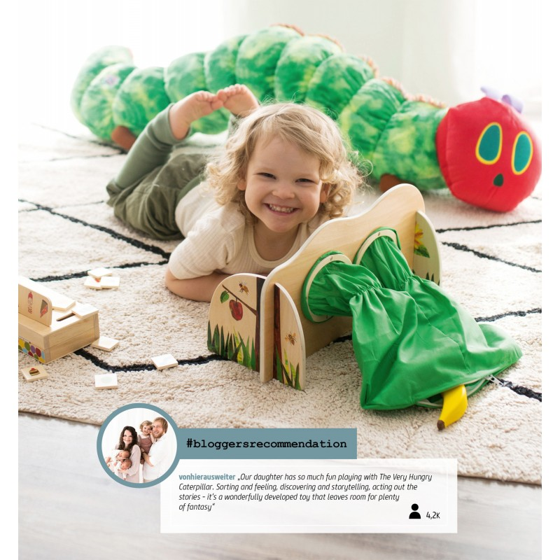 Small foot Barevná hra Caterpillar