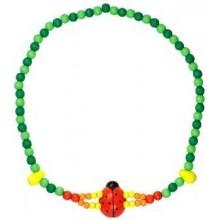 Detoa Dětský náhrdelník 2x provlečená beruška