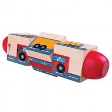 Bigjigs Toys Motorický válec doprava