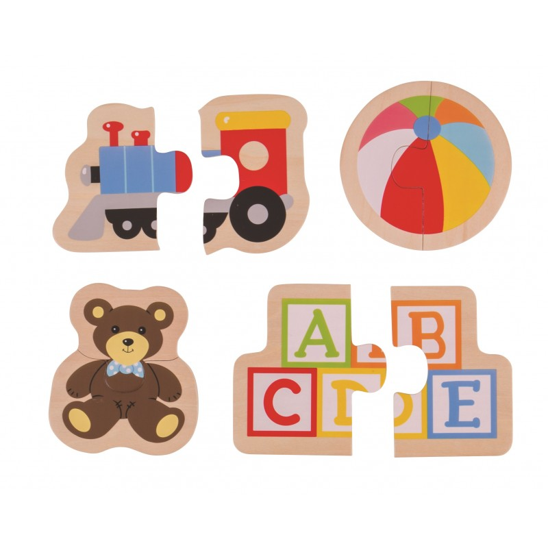 Bigjigs Toys Easy puzzle - Hračky