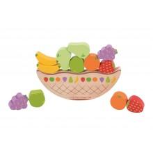 Bigjigs Toys balanční hra - Ovoce
