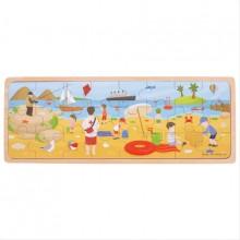 Bigjigs Toys puzzle - Na pláži