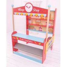 Bigjigs Toys Village dětský obchod