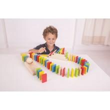 Bigjigs Toys dráha Domino