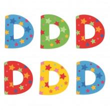 Bigjigs Toys hvězdičkové písmenko D