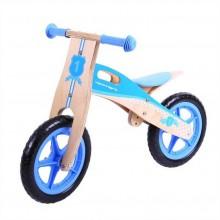 Bigjigs Toys dřevěné odrážedlo Modré kolo