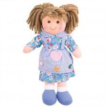 Bigjigs Toys látková panenka Grace 25 cm
