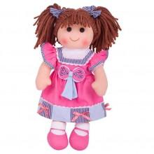 Bigjigs Toys Látková panenka Emma 38 cm