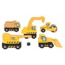 Bigjigs Rail Stavební stroje
