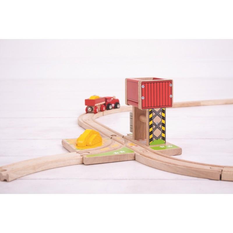 Bigjigs Rail Věž s pískem