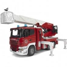 Bruder - Nákladní auto SCANIA - požární žebřík