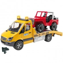 Bruder MERCEDES BENZ Sprinter odtah, jeep