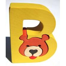 Fauna Abeceda písmenko B medvěd