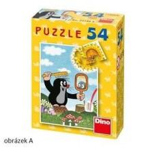 Dino Papírové puzzle Krteček 54 dílků