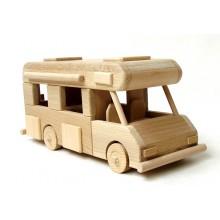 Ceeda Cavity - dřevěné cestovní auto - Karavan