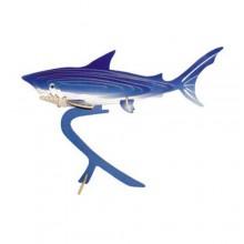 Woodcraft Dřevěné 3D puzzle žralok