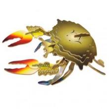 Woodcraft Dřevěné 3D puzzle krab