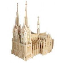 Dřevěná skládačka - Katedrála Colonia P250