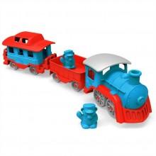 Green Toys Vlak modrý