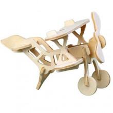Dřevěné 3D puzzle - Dvouplošník HA202