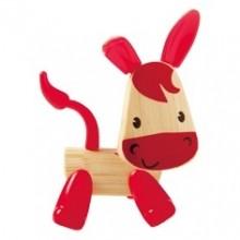 HAPE dřevěné zvířátka- Oslík