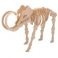Woodcraft Dřevěné 3D puzzle mamut