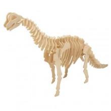 Woodcraft Dřevěné 3D puzzle Brachiosaurus