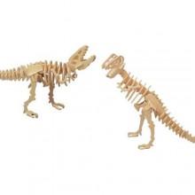 Woodcraft Dřevěné 3D puzzle Tyranosaurus T REX